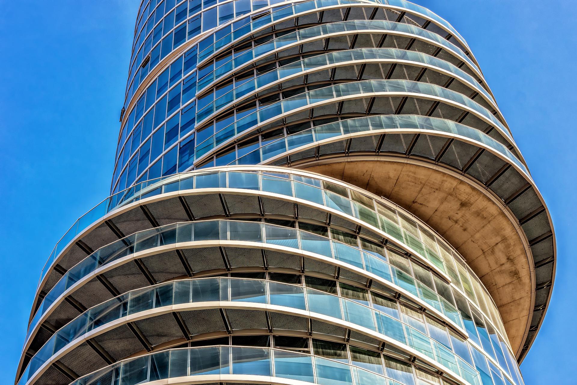 Büroetagen, Architektur