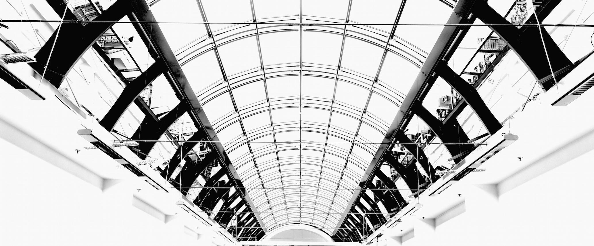 Ku-Damm, Büroetage-Glasdach, Berlin